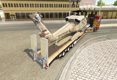 Trailer Holleman & Cargo UH-60 Black Hawk v3.0