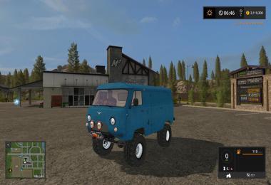 UAZ 452 Farming simulator 17 v1.0
