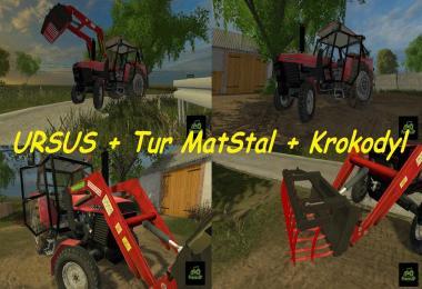 Ursus 902 + TUR MatStal + Crocodile MatStal by Prezes3P