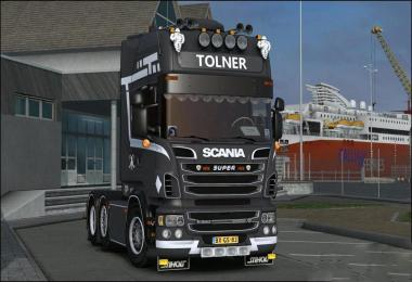 V8 Sound for Scania R560 Tolner Fix v1.0