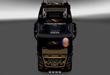 Volvo fh16 2012 Volvo fh16 2013 Ana Beatriz Barros Skin
