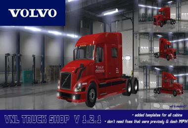 VOLVO VNL TRUCK SHOP v1.2.1