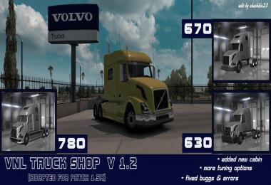VOLVO VNL TRUCK SHOP v1.2
