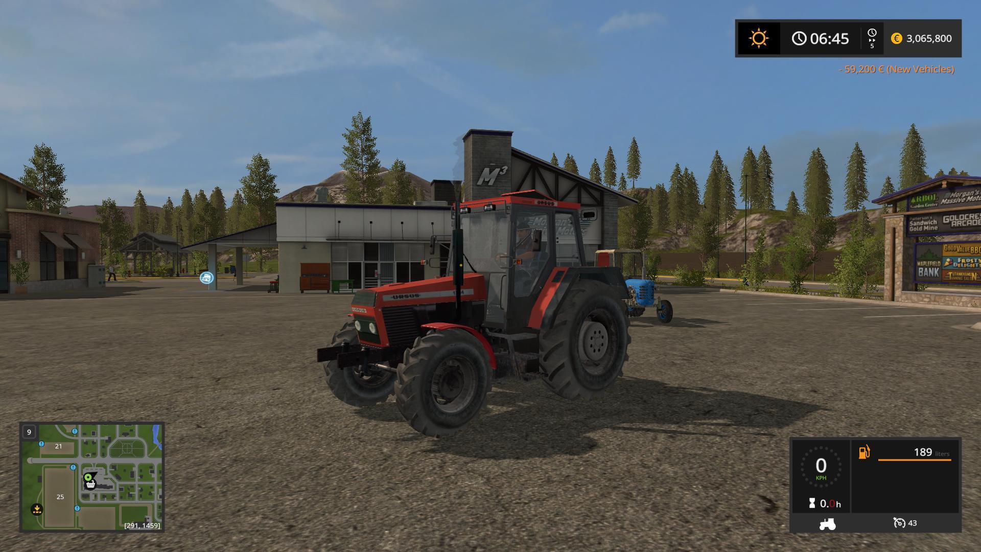 URSUS 1234 Farming simulator 17 v1 - Modhub us