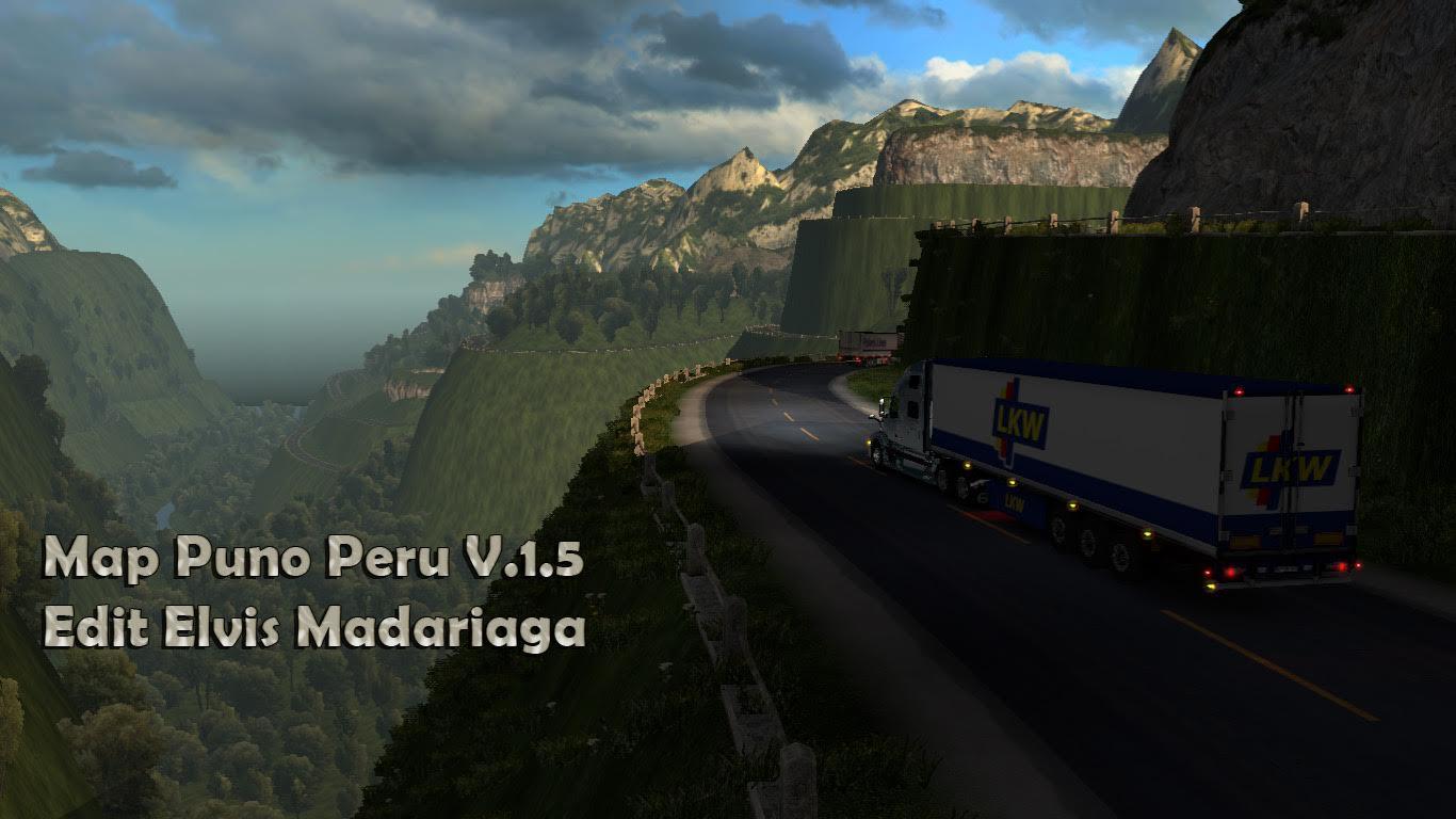Map Puno Peru v 1.5
