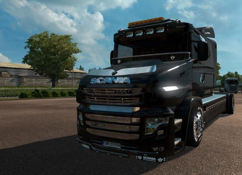 CARLS1309 SCANIA ILLEGAL T V1.0