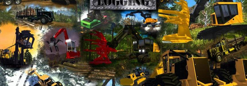 FDR Logging - Forestry Equipment V7