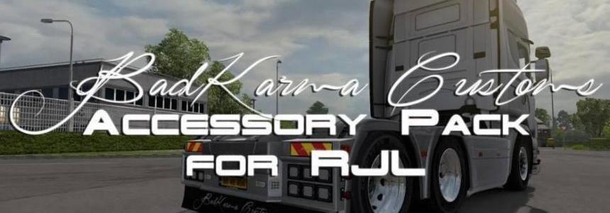 BadKarma Customs Accessory Pack for RJL Scania