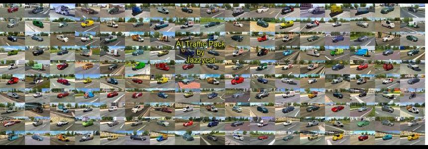 AI Traffic Pack by Jazzycat  v4.7