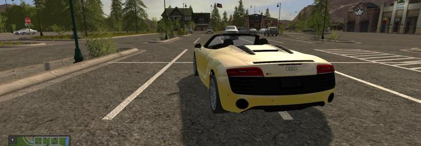 Audi R8 spyder (yellow) v1.0