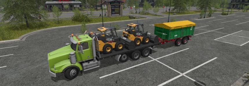 BBM Tri Axle Flat Bed Truck v1.0.0.1