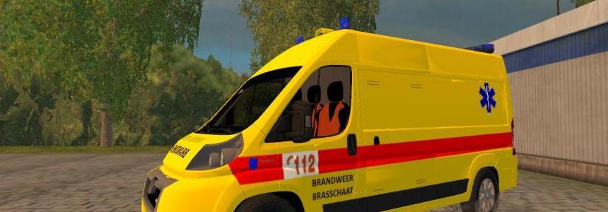 Belgian Ambulance (Fire dept.) v1.0