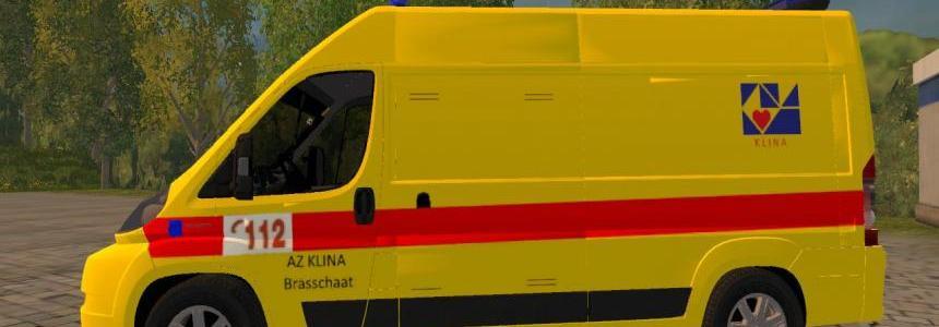 Belgian Ambulance (KLINA) v1.0