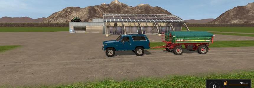Blue Ford Bronco V1.0