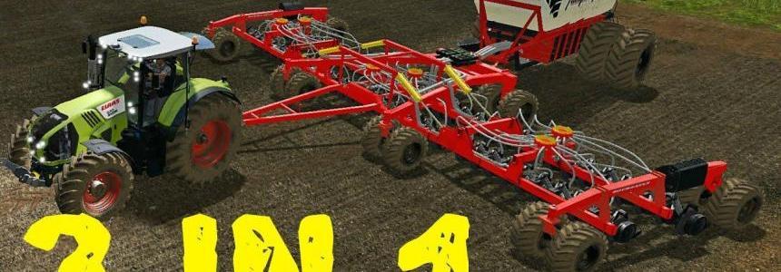 Bourgault IADS direct drilling machine with fertilization v1.1