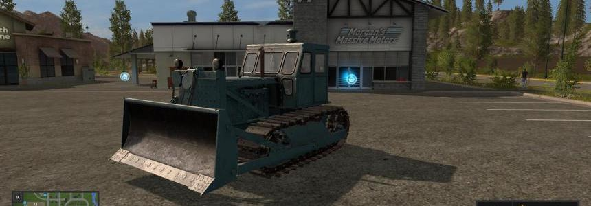 Bulldozer T-100 with a blade v1.0