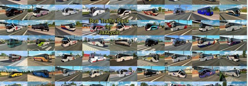 Bus Traffic Pack by Jazzycat v2.0