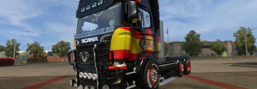 Carls Scania R&S V9.0 (1.27)