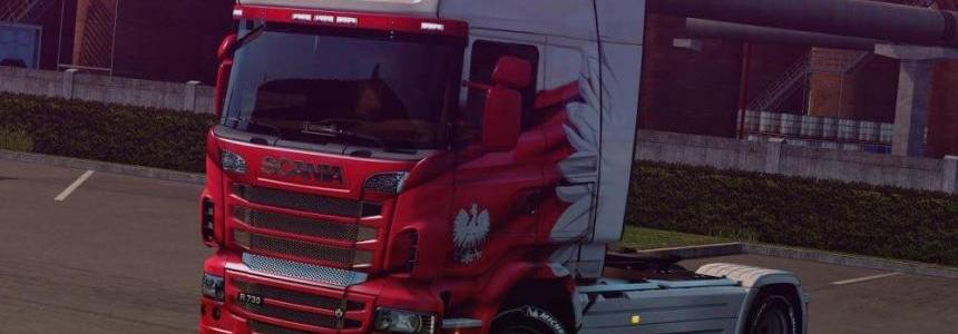 Chassis from Scania S to Scania R v1.0