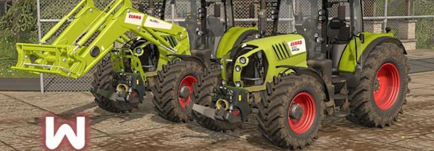 Claas Arion 600 & Axion 800 Series v1.0