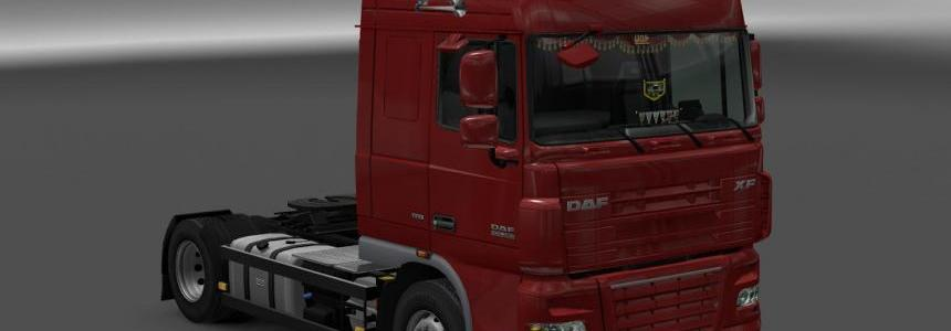 DAF XF 105 by vad&k v4.7