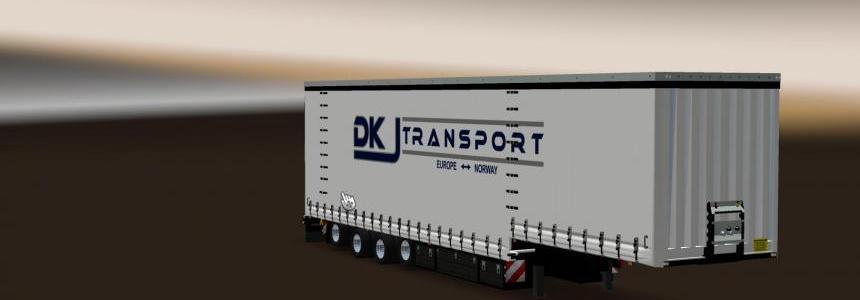 DKJ Transport Skin for Krone Jumbo 4 Axle v1.0