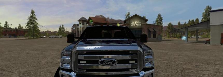 FORD F350 WORK TRUCK v1.1