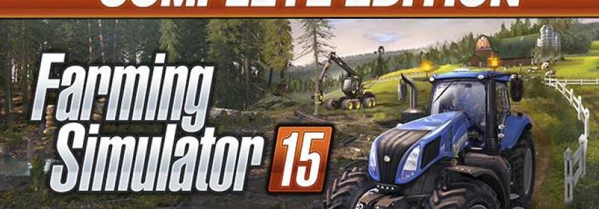 FS15 – Complete Edition available now!