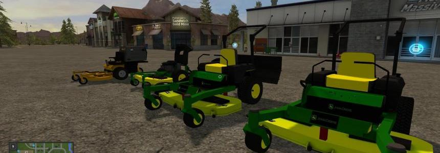 FS17 John Deere Mower Pack [FIXED] v1.3