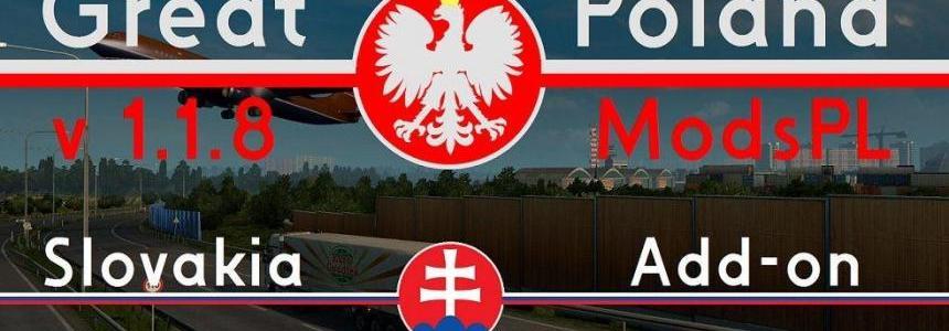 Great Poland v1.1.8 by ModsPL + Slovakia Add-on v1.0