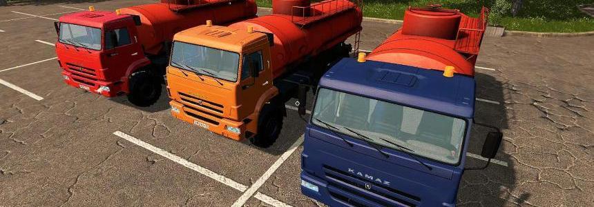 KamAZ 43118 Petrol tanker v1.0