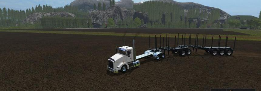 Kenworth t800 long v1.2