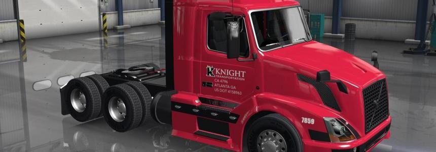 Knight Transport skin for Volvo shop v3.0
