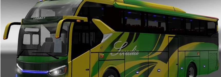 Laksana SR2XHD Bus with BD Skin v1.0