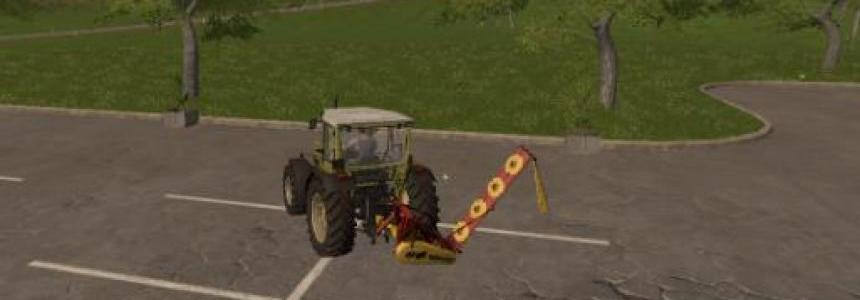 Lawn mower KDN-210 for FS2017 v1.0
