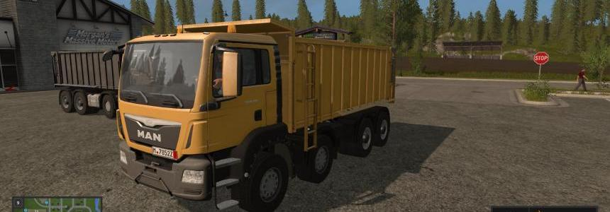 MAN TGS 41.440 tipper Edited GergoBoy15