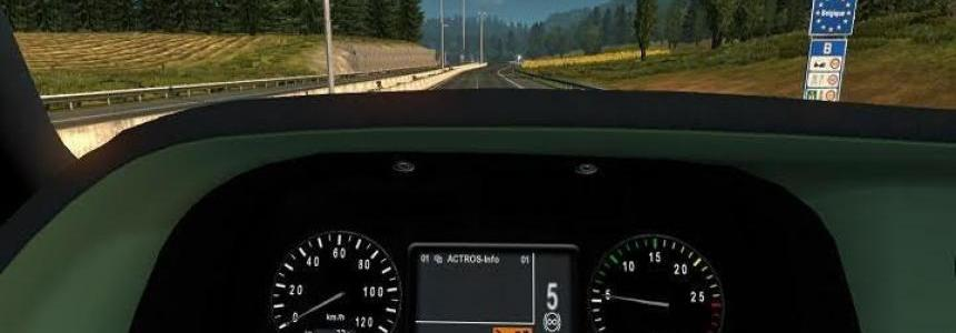 Mercedes Actros MP3 Dashboard Computer Fix Update