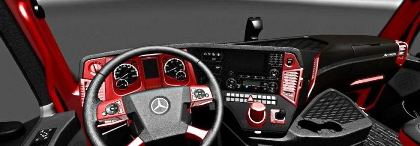 Mercedes MP4 Red Black Interior 1.27