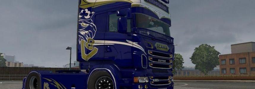 Moonwalker Scania RJL Skin