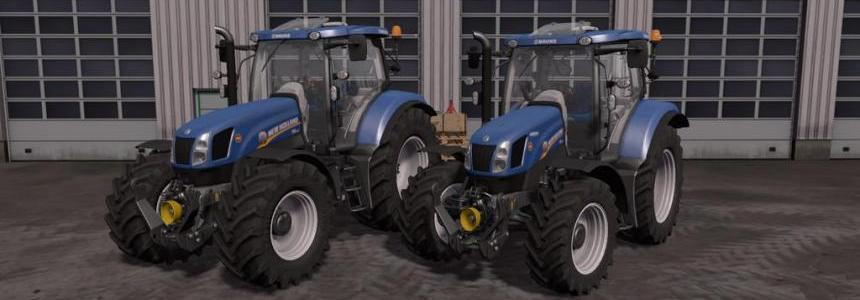 New Holland T6 Tier4a v1.1.0.0