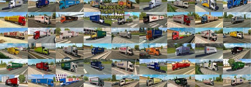 Painted BDF Traffic Pack by Jazzycat  v1.7