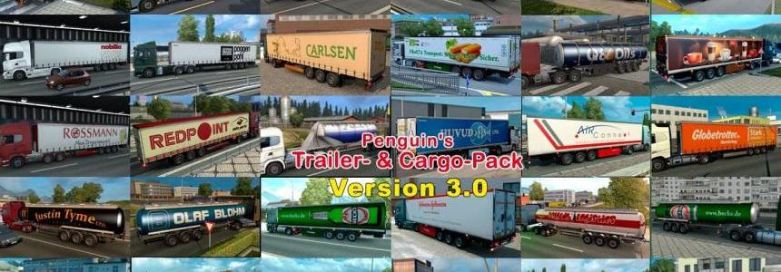 Penguins Trailer and CargoPack v3.0
