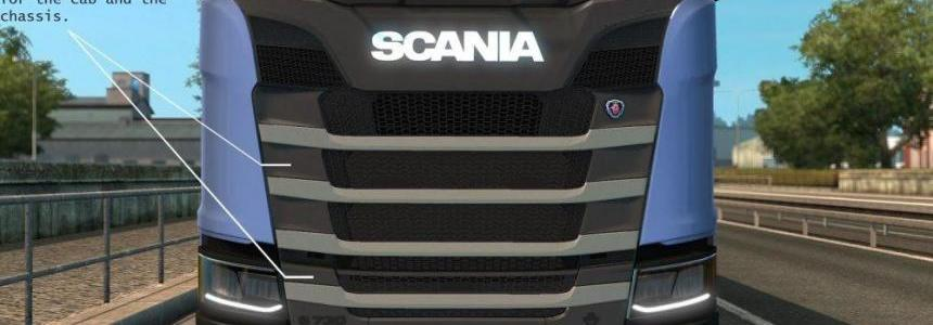 Plastic Parts + New Engines for Scania S v1.0