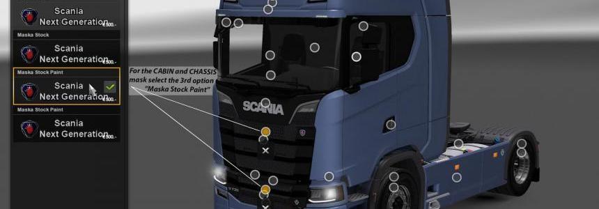 Real V8 Style for Scania S730 v1.0