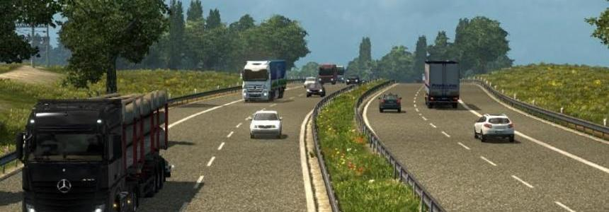 Realistic traffic density & moderate speed v1.0