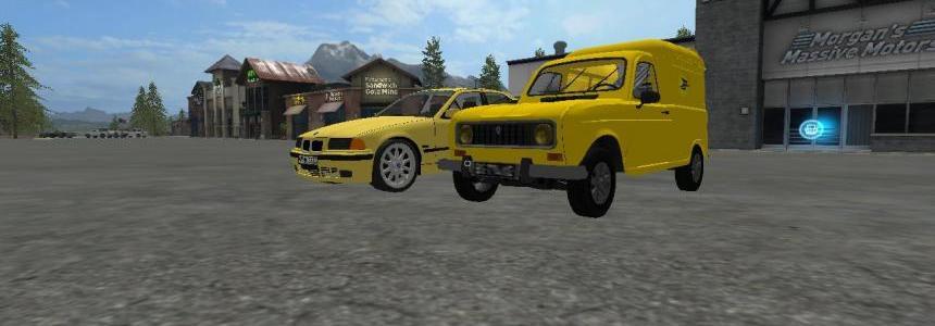 Renault 4L de la poste