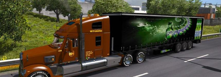 Rolling Rock Beer Trailer
