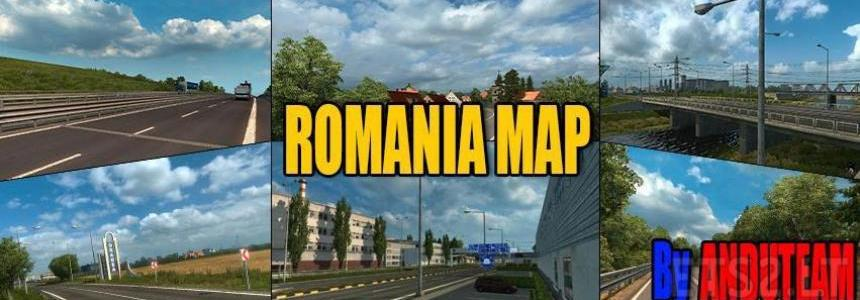 Romanian Map v1.3a (Alpha)