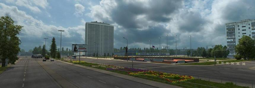 RusMap v1.7.2 & ProMods 1.26 Connection Patch Update