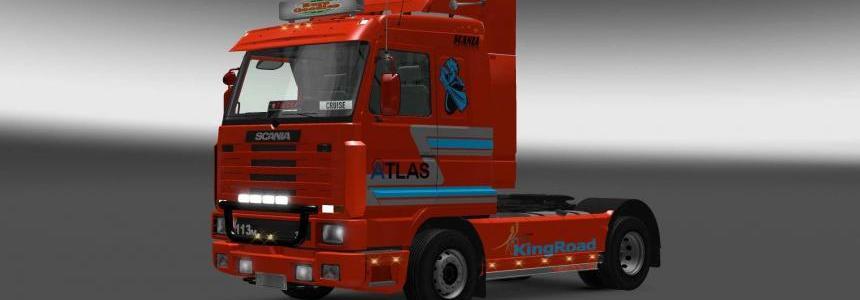 Scania 143M Atlas skin 1.27